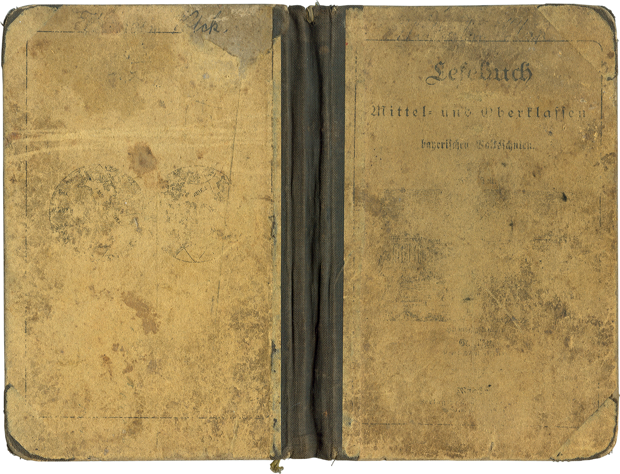 Antique stained book cover   PNG by mercurycode