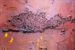 Golden rusty bits