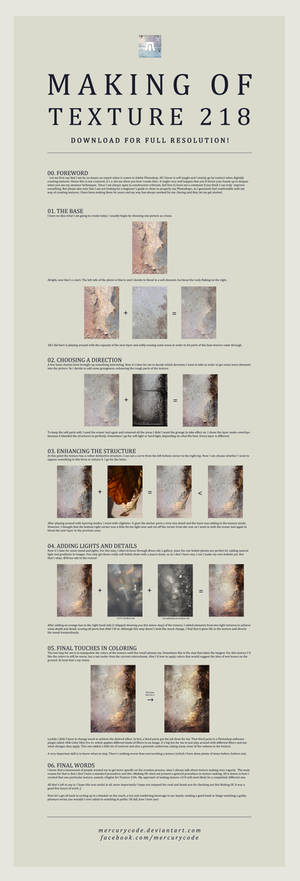 Making Of Texture 218