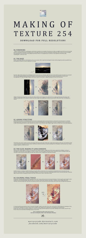 Making Of Texture 254