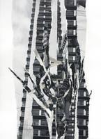 Hightower Rose - Original Paper Collage
