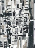 Weaver - Original Paper Collage