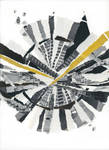 In Time - Original Paper Collage