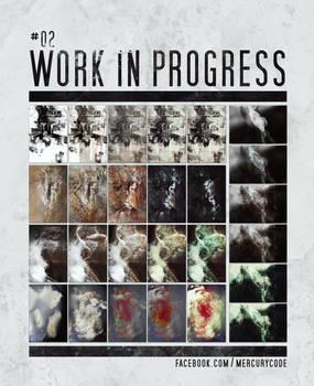 Work in Progress #2   Texture creating process