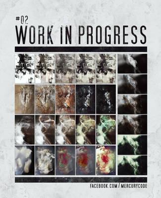 Work in Progress #2 | Texture creating process