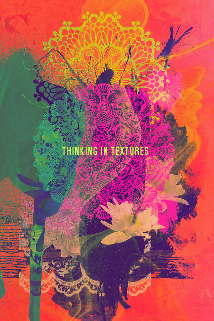 Thinking in textures (NOT STOCK) by mercurycode