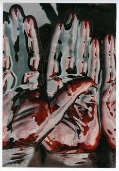 Original Collage: Blood of my Blood