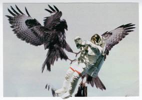 Original Collage: The Capture