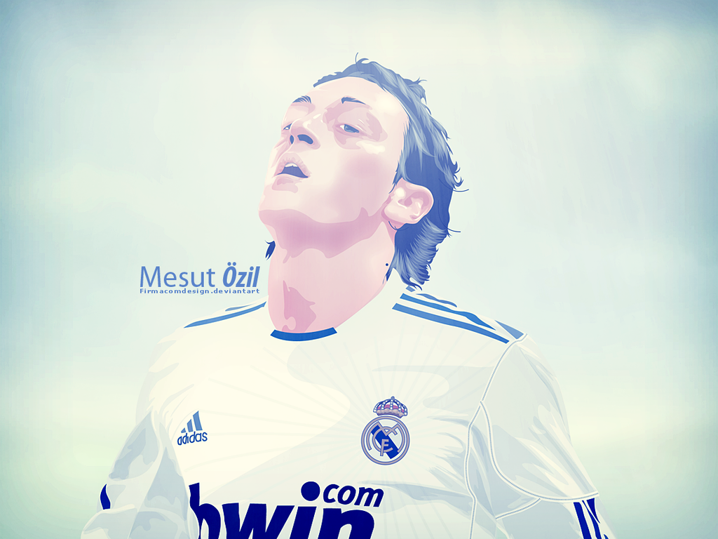 Mesut Ozil By Firmacomdesign On DeviantArt