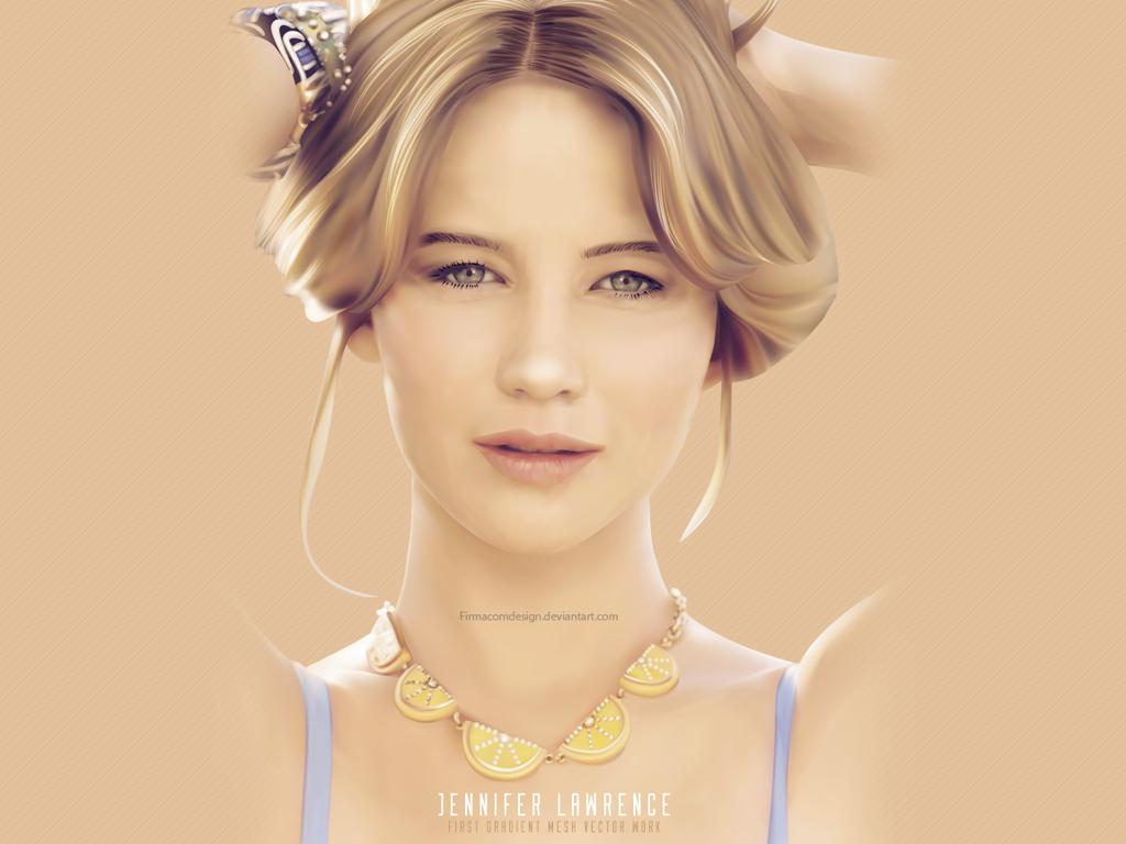 Jennifer Lawrence by firmacomdesign