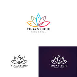 Yoga  Logo by firmacomdesign