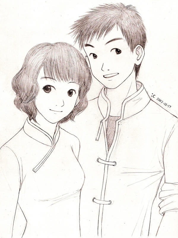 Chinese Couple By Cocon On DeviantArt