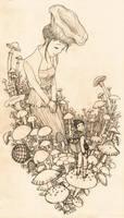 Mushroom Fairy by cocon