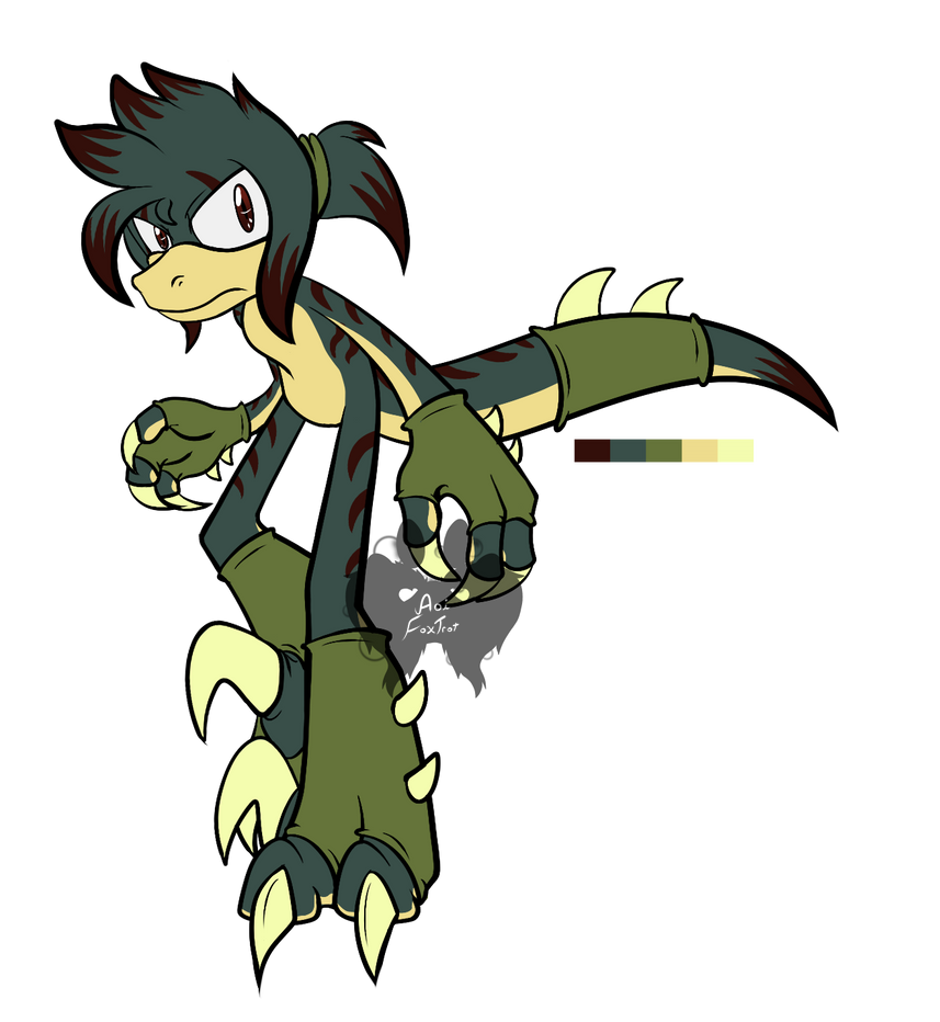 Male Mobian Raptor Adopt 1 CLOSED By AoiFoxtrot On