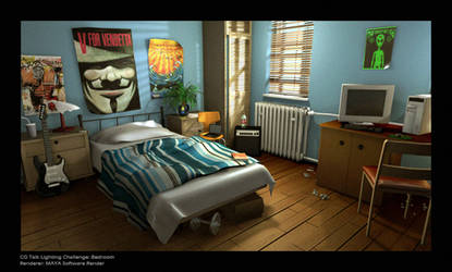 CGT lighting Challenge Bedroom