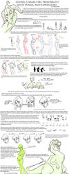 Posing and Expression Tutorial by KiilKannibble