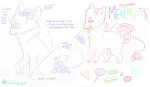 Mealmutts (closed species) by kallipyr
