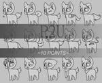 Chibi pup variations base (P2U)