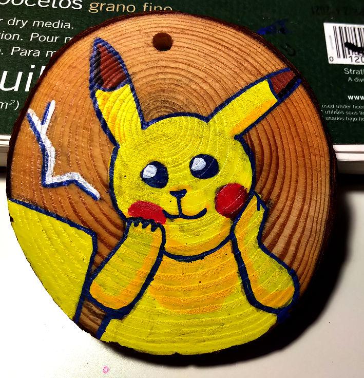 [18/05.2021] Posca Painting - Pikachu