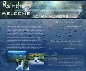 Raindrops by ramesh000