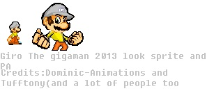 Giro The Gigaman sprite and Pa 2013 by SHANIC1295