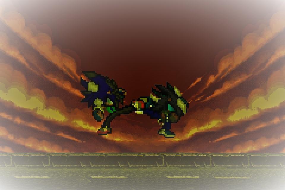 Loganic Vs Hokai The Final Fight by SHANIC1295