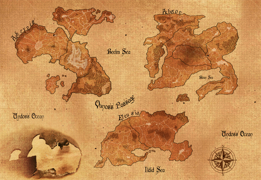 Fantasy world map by melliemd on deviantart fantasy world map by melliemd gumiabroncs Gallery