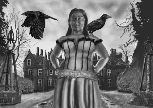 the lady of the Crows