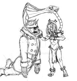 Skullgirls: Paindrain