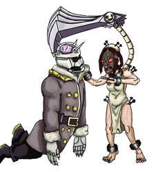 Skullgirls: PainDrain Coloured