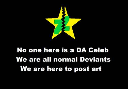 there are no DA Celebs