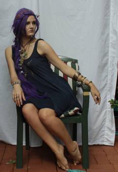 Purple Hair 6