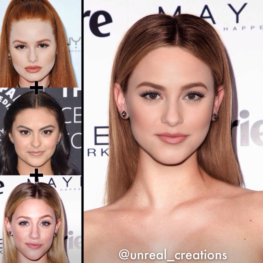 Girls of Riverdale Face Morph by UnrealCreations1 on DeviantArt