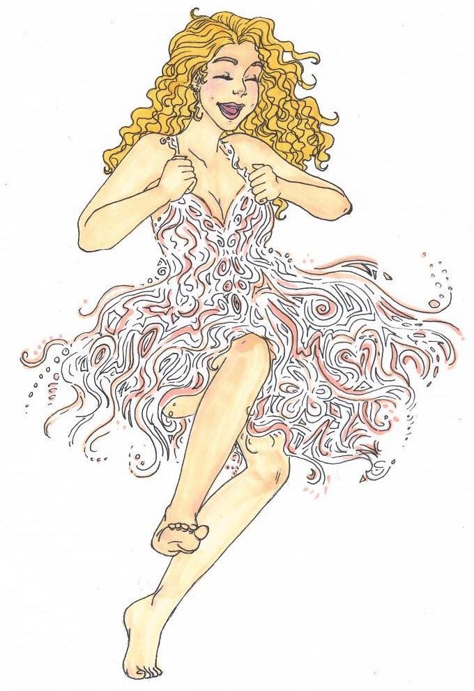 Dress of swirls by MandyDandy-02