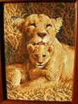 Lion Cross Stitch