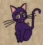 Luna cross stitch
