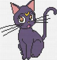 Luna x stitch pattern by Santian69