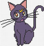 Luna x stitch pattern