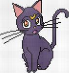 Luna x stitch pattern