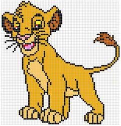 Simba pattern by Santian69