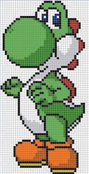 Yoshi cross stitch pattern by Santian69