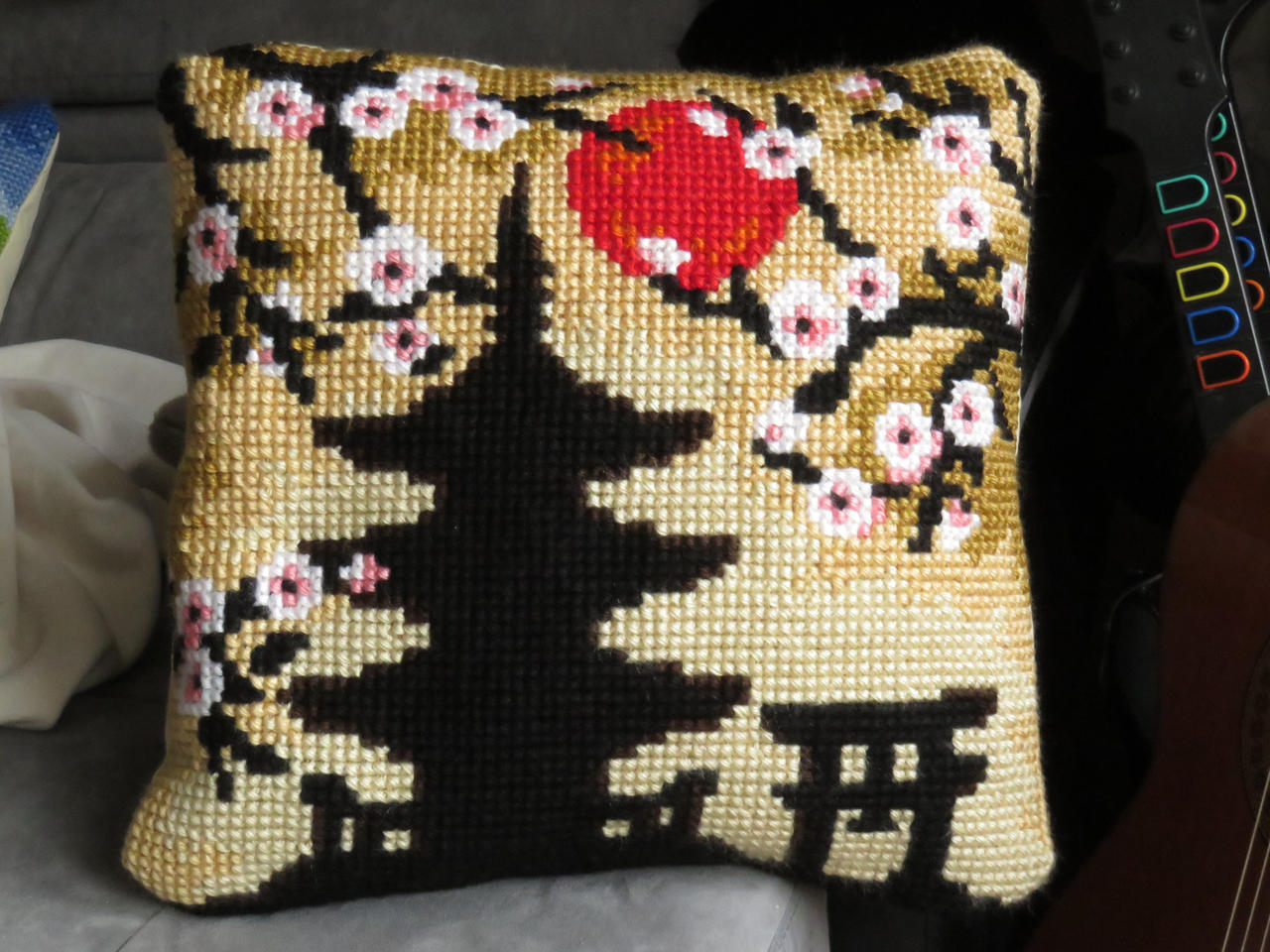 Japanese cushion