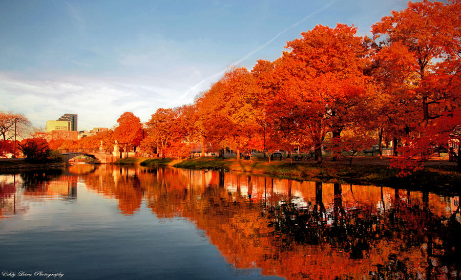 Autumn in Boston V by MyLifeThroughTheLens