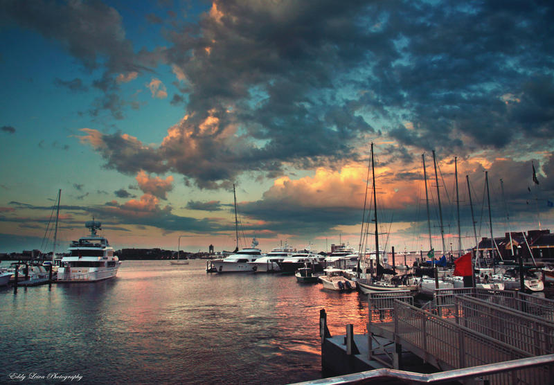 Boston Harbor by MyLifeThroughTheLens
