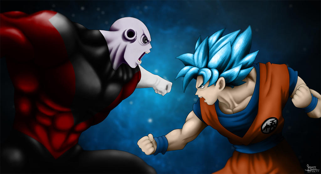 Goku Vs Jiren By Spas Synja