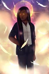 Haniel Archangel of Joy by FeeX123