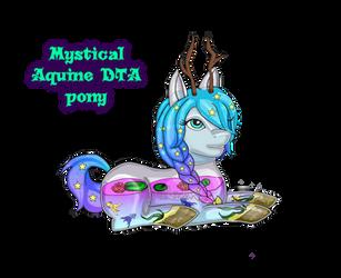 Legendary Mythical Aquine by paranoiaprincess83