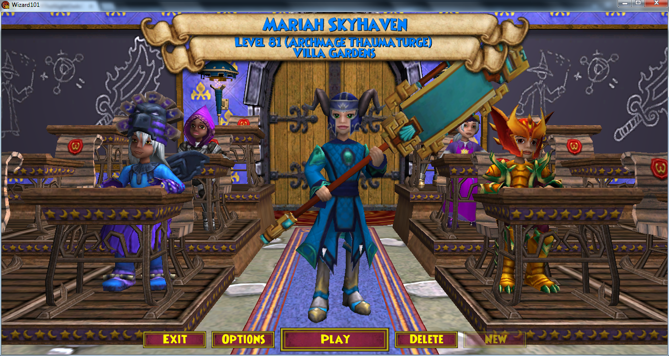 wizard101 pictures of wizards