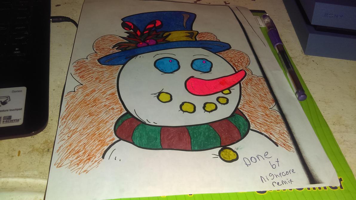 Snowman by SaltyMcSkittles