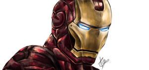 Iron Man by kazu-ren